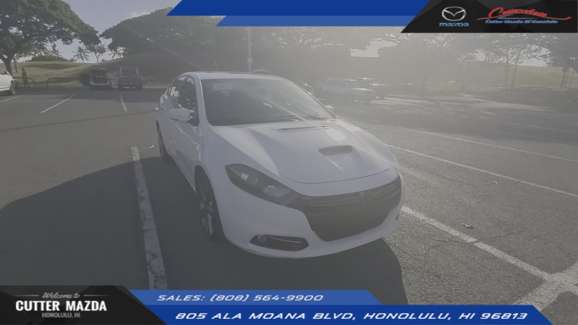 Cutter Dodge Honolulu >> Pre Owned 2016 Dodge Dart Gt Fwd 4dr Car