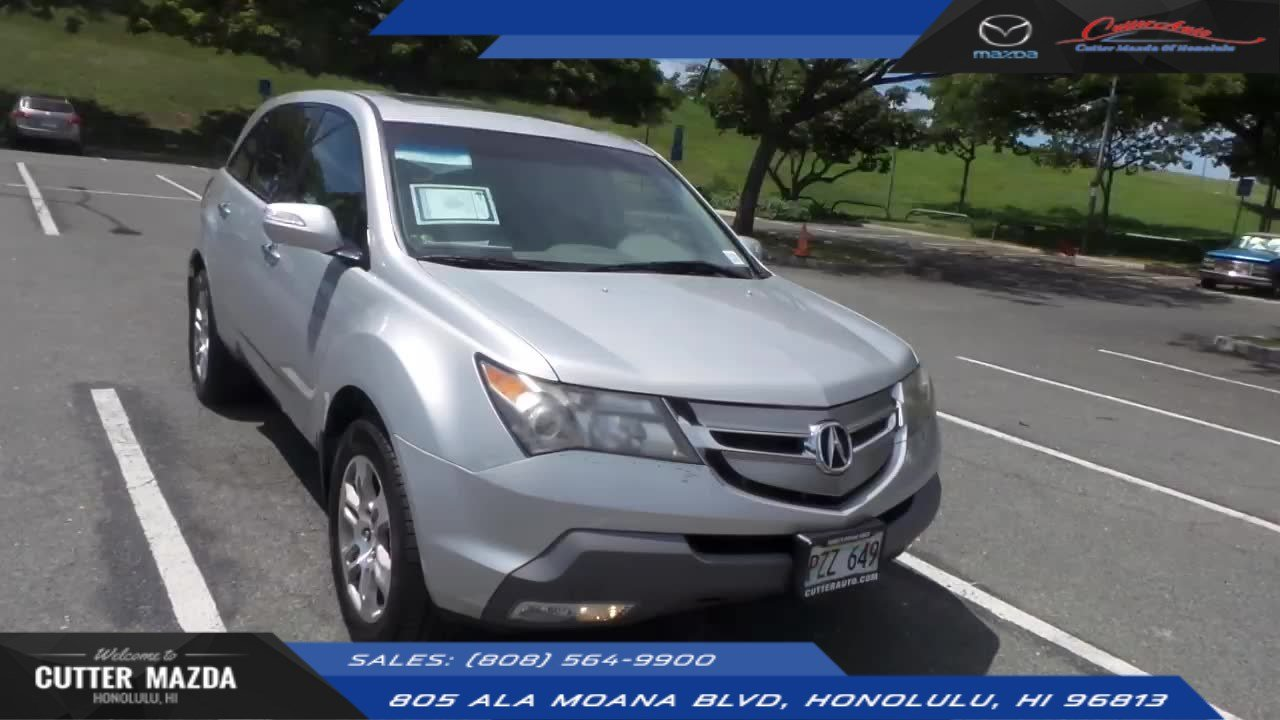PreOwned Acura MDX Sport Utility In Honolulu A Cutter - Acura mdx pre owned